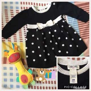 Baby girl dress for 3mos old