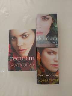 Delirium Series by Lauren Oliver