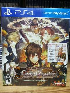 (Brand New) PS4 Code Realize Bouquet of Rainbows Limited Edition / R1