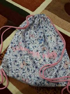 H&M Printed Draw String Bag
