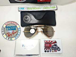 VINTAGE RAYBAN ODM THE GENERAL 50 ANNIVERSARY 58M
