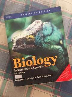 Biology: Applications and Concepts (8th ed.)