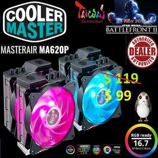 CoolerMaster MA620P TUF Edition (RGB) CPU Cooler (3 Years Warranty)