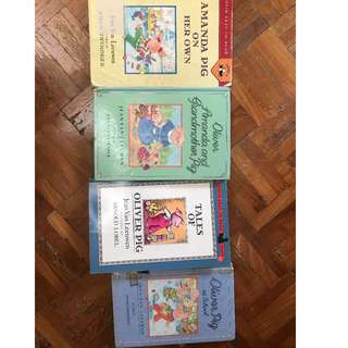Puffin Easy-to-Read Series: Oliver Pig (4 books)