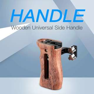 🚚 SmallRig Wooden Universal Side Handle 2093