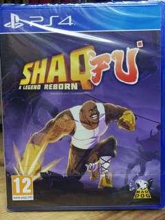 (Brand New) PS4 Shaq Fu A Legend Reborn / R2