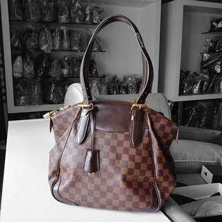 Authentic Louis Vuitton Damier Ebene Verona LV