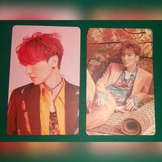 Super Junior - 8th Repackage Album (Replay) Khino Photocards