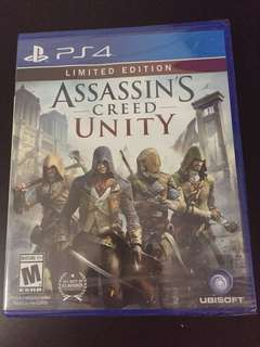 PS4 Assassin's Creed Unity Limited Edition (New)