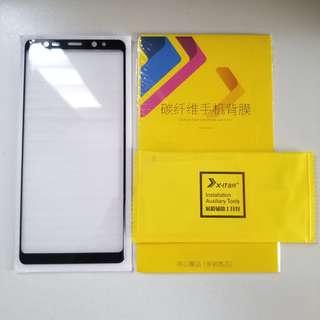 Note8 全屏幕玻璃貼 送背貼