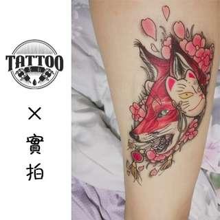 防水紋身貼紙貼紙紋身貼紙男女款印水紙帥氣紋身各種貼紙高端刺青貼紙逼真效果紋身貼滿100包平郵tattoo