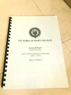 VJC GP Papers