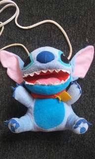 Stich sling bag suffed toys