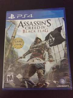 PS4 Assassin's Creed IV Black Flag (New)