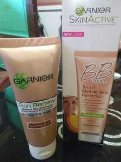 Bb cream and anti wrinkle night cream