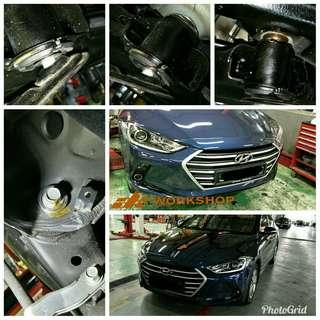 Hyundai Elantra 2018 Magic Collar Kit