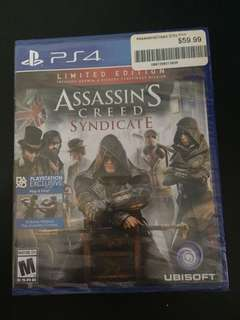 PS4 Assassin's Creed Syndicate (New)