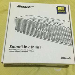 Bose soundlink mini factory renewed