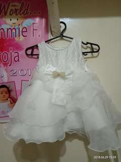 White Gown for baby