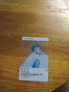 BTS Jimin card