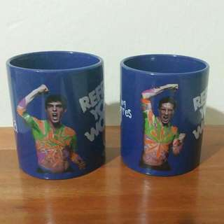 Pepsi Mug - Limited Edition of Torres and Kaka/Buy 4 get 1 free