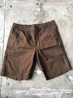 Uniqlo brown shorts