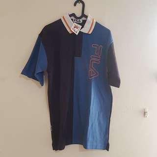 FILA blue shirt