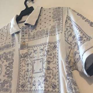 Uniqlo Printed Polo shirt