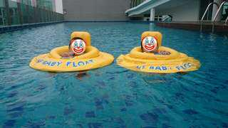 Baby floats for twins