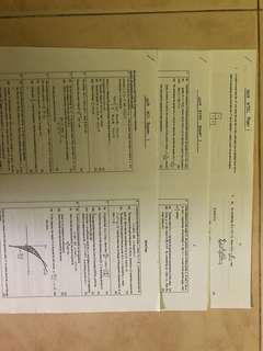 JC H2 Math Prelim Papers
