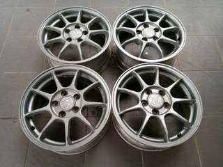 Euro R CL1 wheels