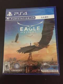 PS4 VR Game Eagle Flight (New)