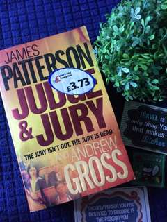 JUDGE AND JURY - James Patterson