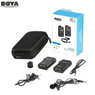 BOYA BY-WM4 Wireless Microphone System
