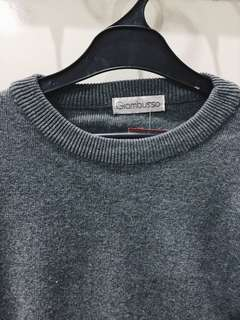 GREY SWEATER GIAMBUSSO