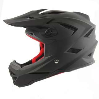 Bike Helmet Matt Black