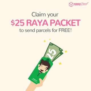 Send Parcels with FREE Credit
