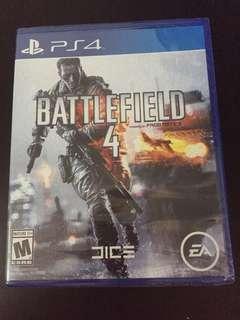 PS4 Battlefield 4 (New)
