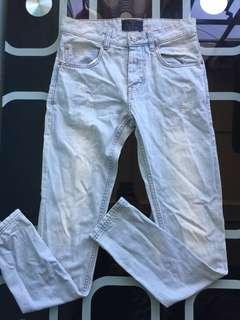 Bershka Skinny Denim Jeans Pants