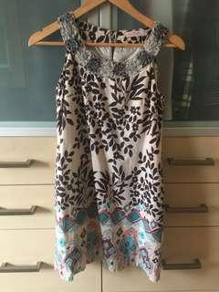 Batik pattern dress