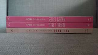 🚚 [WTS] Apink Unsealed Albums