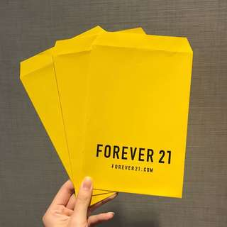 🚚 Forever 21 信封袋*3