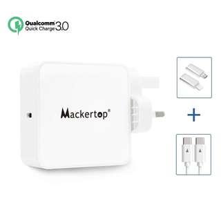 973. Mackertop 65W 29W USB C Type C Power Adapter