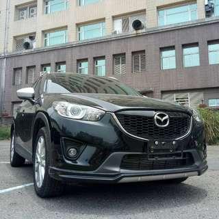 2014年CX5黑色頂級2.2柴油跑13萬        大桃園優質二手中古車買賣