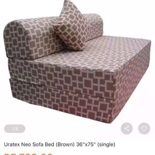 Uratex sofa bed for sale