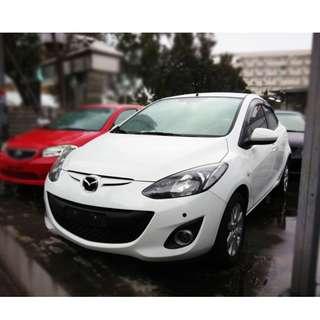 【老頭藏車 】2011 Mazda 2『0元就把車貸回家 』『全貸,超貸,免保人』中古 二手 汽車