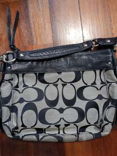 Preowned Coach hobo bag