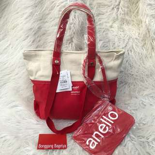 Authentic Anello Tote with Pouch