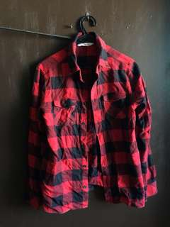 H&M Flannel , Long Sleeve