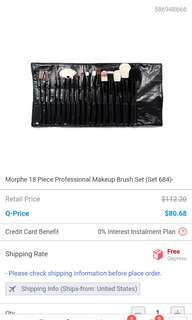 🚚 Morphe make up brush